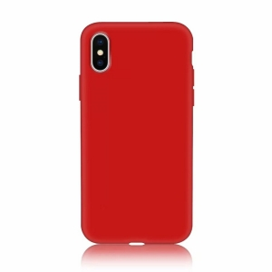 Funda Carcasa Case Iphone Silicona Flexible Ultra Fina Tpu Suave Compatible con iphone 5/5S Rojo