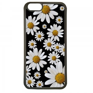Fundas carcasas de movil compatible con el movil iphone 5 5s modelo margaritas