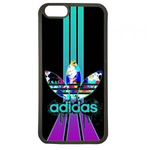Funda carcasas móvil adidas lila compatible con el móvil iphone 5 5s