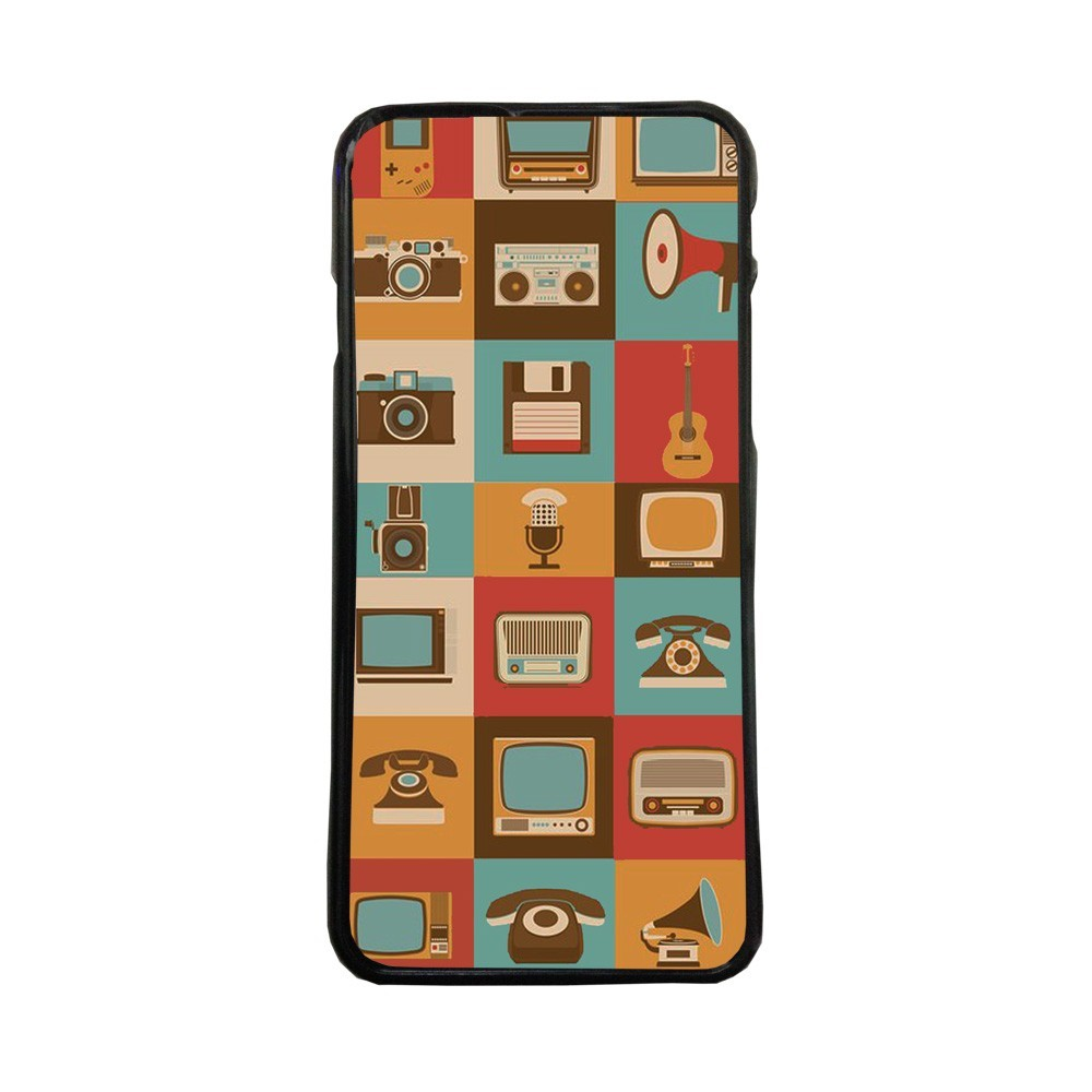 Carcasas de movil fundas de moviles de TPU compatible con Samsung Galaxy J5 2016 imagenes retro