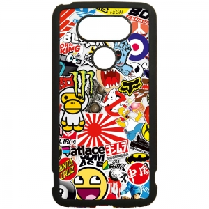 Carcasas para moviles fundas de movil de tpu compatible con lg g5 stickers motos