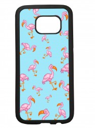 Funda carcasas móvil flamencos compatible con movil Samsung Galaxy S7 Edge