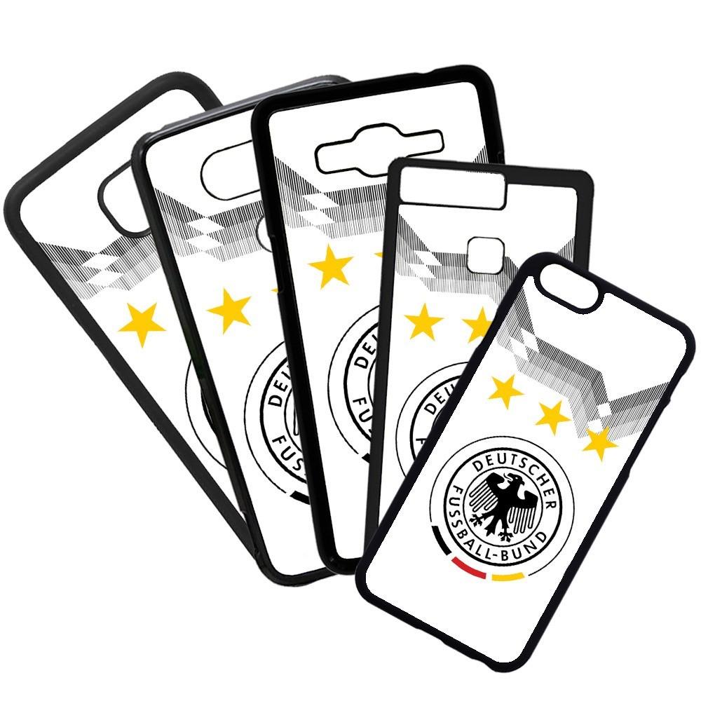 Carcasas de movil fundas de moviles de TPU compatible con Huawei P20 Lite selección de alemania fútbol