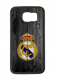 carcasa para el movil funda compatible con samsung galaxy s6 edge real madrid