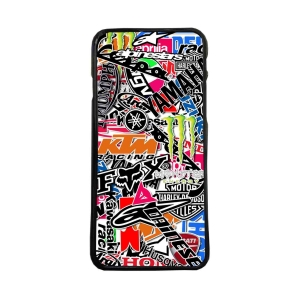 Carcasas de moviles Fundas movil de tpu compatible con Htc Bolt stickers motos