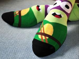 Calcetines Superheroes Moda Dibujos Heroes Niños Moda Unisex Ropa Tortuga Ninja