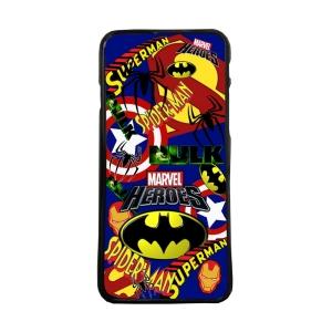 Fundas De Móviles Carcasas De Móvil De TPU Logo Marvel Superheroes Moda Colage