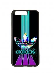Funda carcasas móvil adidas lila compatible con el móvil Huawei P10