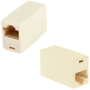 Prolongador Adaptador de Cable de Red Ethernet RJ45 CAT 5 Hembra a Hembra H/H