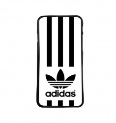 Carcasas de moviles Funda movil compatible con Samsung Galaxy S6 adidas rallas
