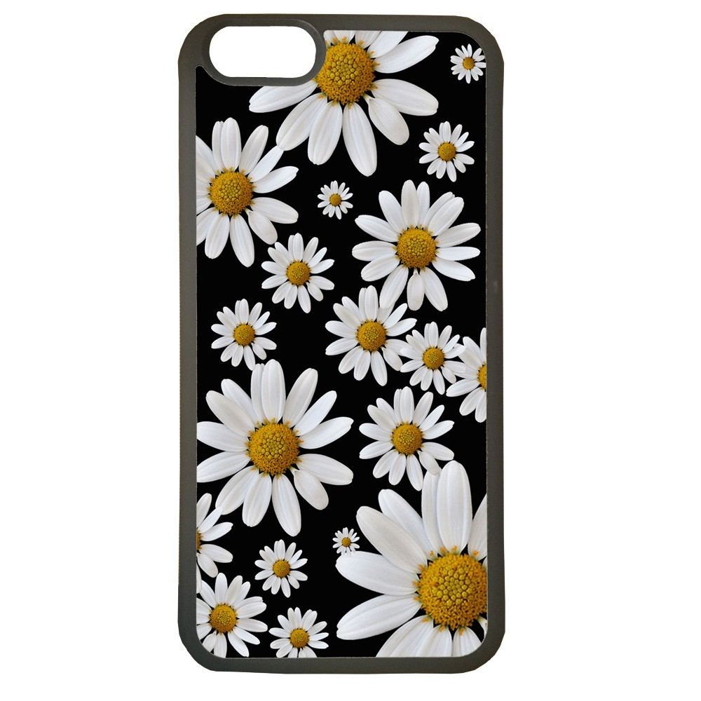 Fundas carcasas de movil compatible con movil iphone 6s plus modelo margaritas