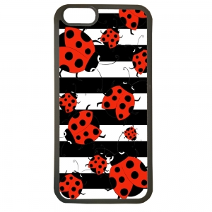 Fundas carcasas de movil compatible con el movil iphone 5 5s modelo mariquitas