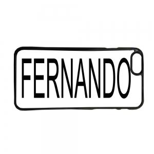 Fundas De Móviles Carcasas De Móvil De TPU Personalizada Con Tu Nombre Fondo Blanco