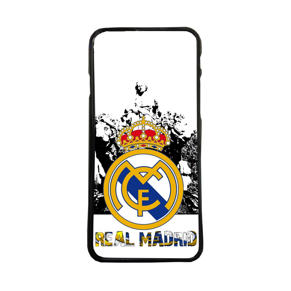 Carcasas de movil funda compatible con Samsung Galaxy A8 real madrid cibeles