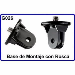 Base de Montaje Camara Deportiva Compatible Con GoPro HERO 1 2 3 4 HD Accesorios