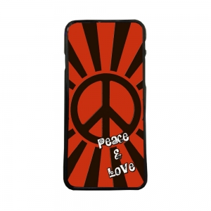 Fundas De Móviles Carcasas De Móvil De TPU  Paz Y Amor Peace And Love