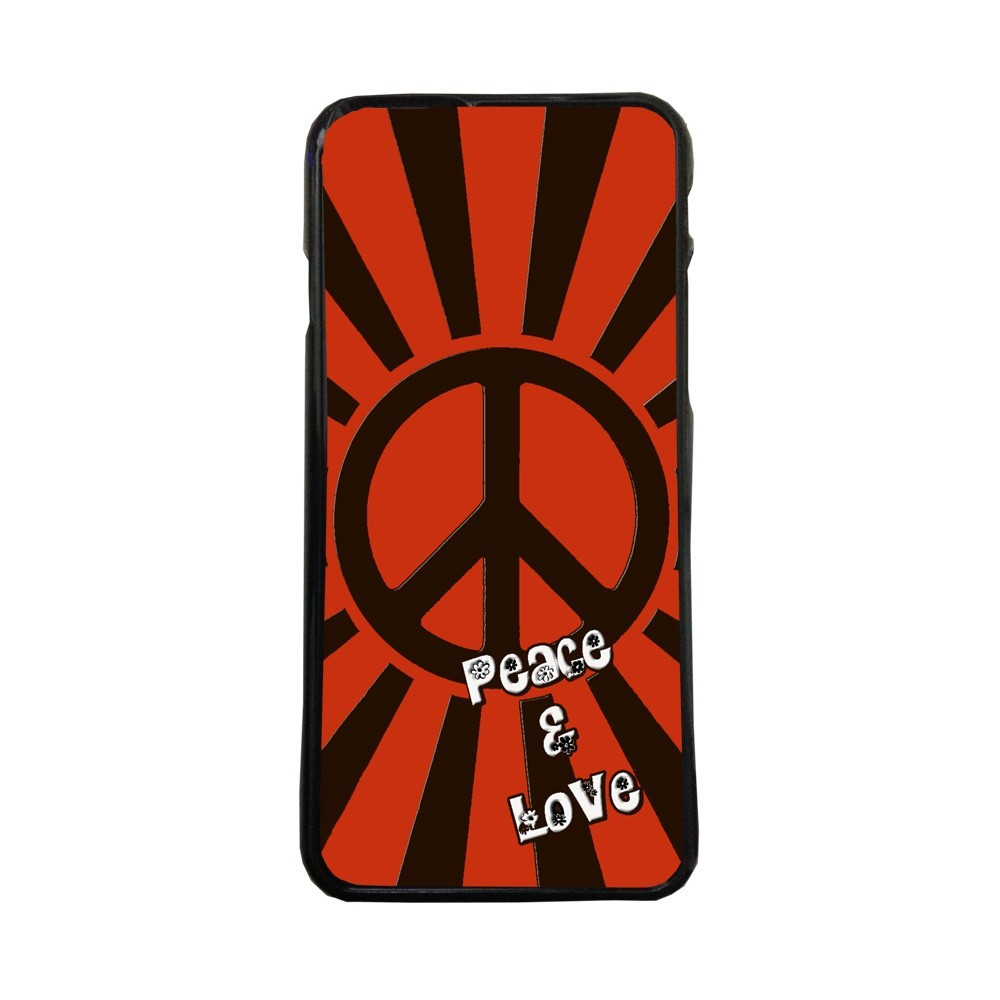 Carcasas de movil fundas de moviles de TPU compatible con Iphone 8 peace and love