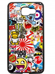 carcasas fundas movil tpu compatible con samsung galaxy a3 2016 sticker dibujos