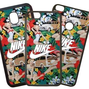 Fundas De Móviles Carcasas De Móvil De TPU Modelo Nike Flores Dibujos Moda