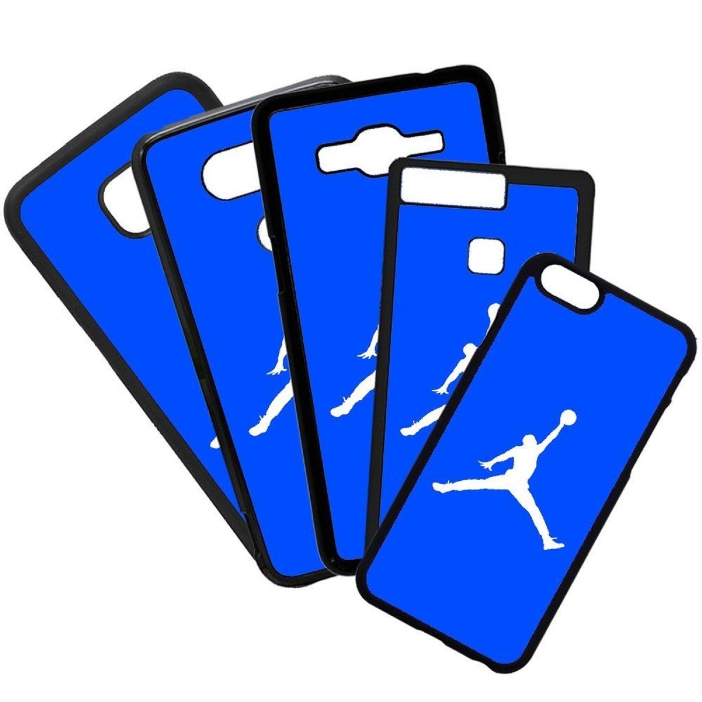 Fundas De Móviles Carcasas De Móvil De TPU Modelo Jordan Color Azul Marcas Moda Baloncesto