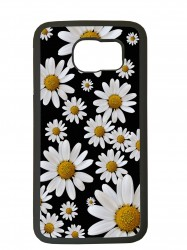 Fundas carcasas de movil compatible con samsung galaxy s6 modelo margaritas