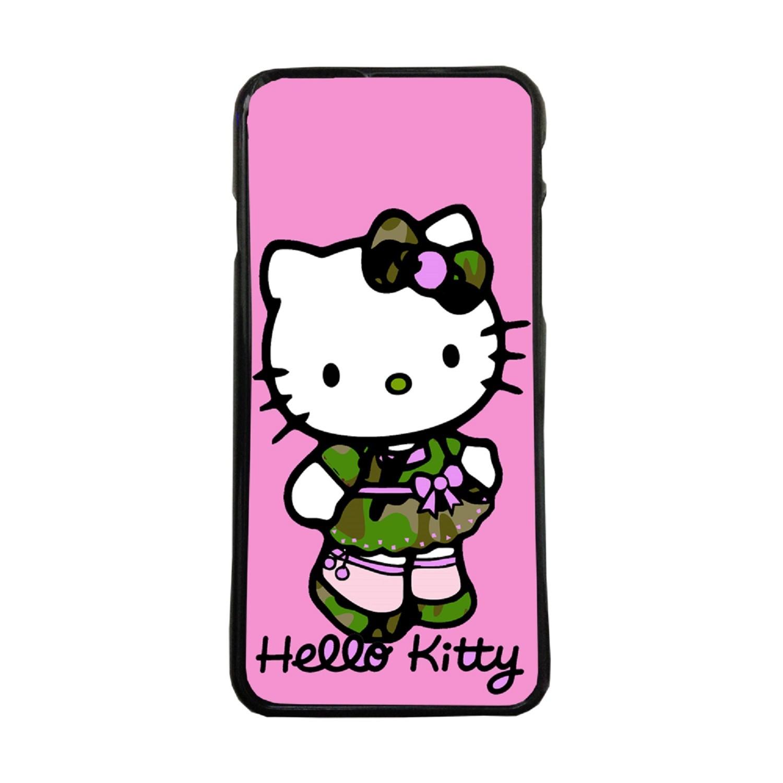 Fundas De Móviles Carcasas De Móvil De TPU Hello Kitty Vestida Camuflaje Dibujos Juguetes