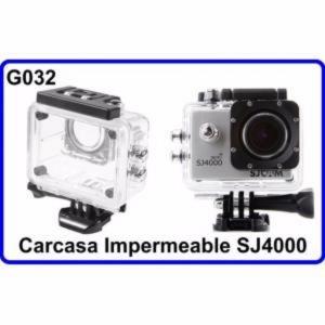 Carcasa Acuatica Accesorios para  Camara Deportiva Compatible con SJ4000