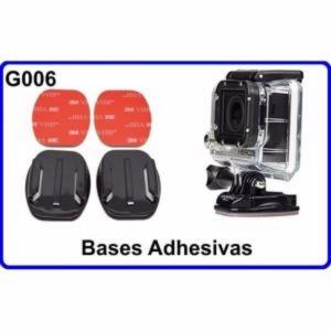 Bases Adhesivas para Cámara Deportiva Compatible Con GoPro HERO HERO-1  2  3  HD