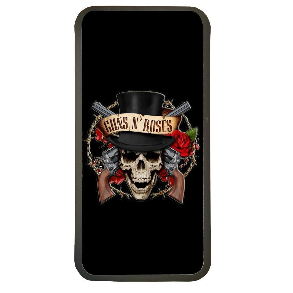 Carcasas de movil fundas de móviles de TPU compatible con Samsung Galaxy A8 musica grupo guns n roses