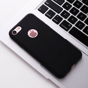 Funda Carcasa Case Iphone Silicona Flexible Ultra Fina Tpu Suave Compatible con iphone XS MAX Negro Agujero