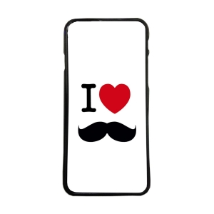 Carcasas de moviles fundas de móvil compatible con iphone X i love bigotes