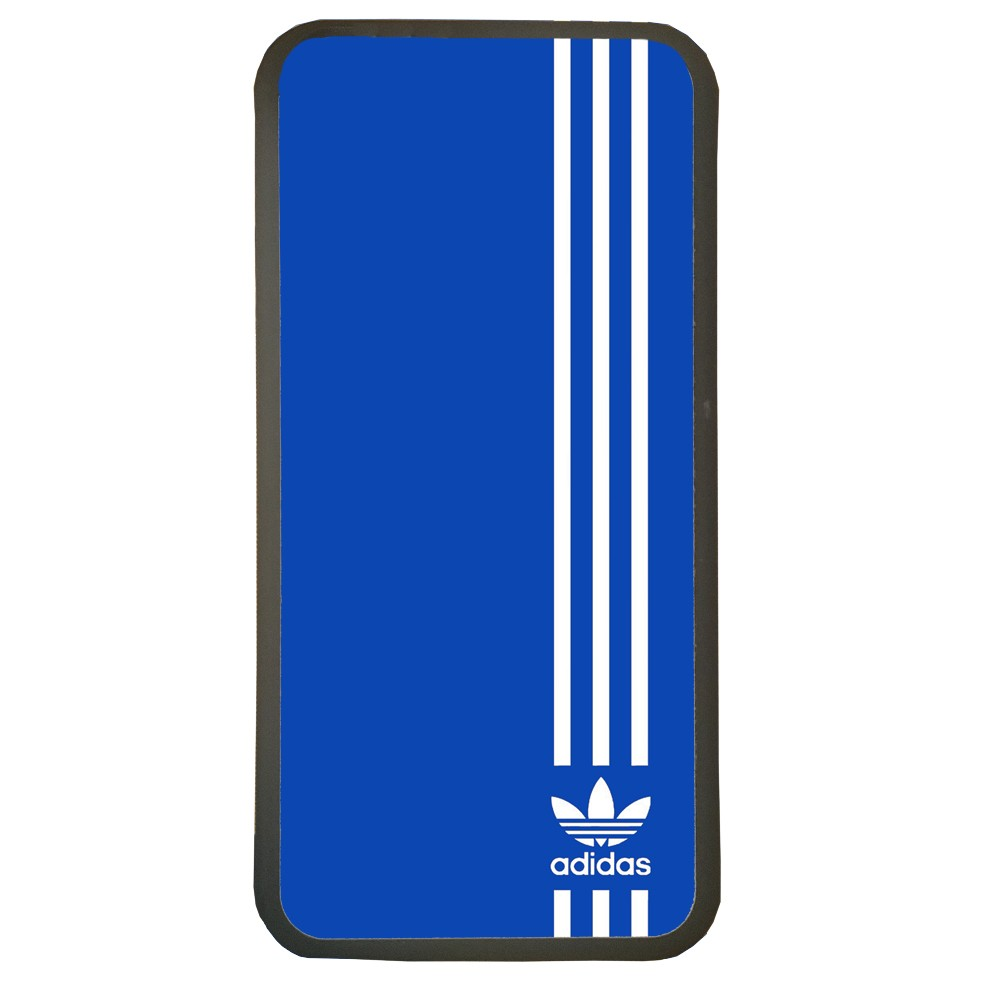 Carcasas de movil fundas de moviles de TPU compatible con Samsung Galaxy S6 marca adidas color azul deporte