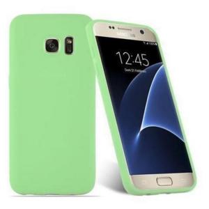 Funda Carcasa Case Samsung Galaxy Silicona Flexible Ultra Fina Tpu Suave Compatible con Samsung Galaxy  S8 Verde