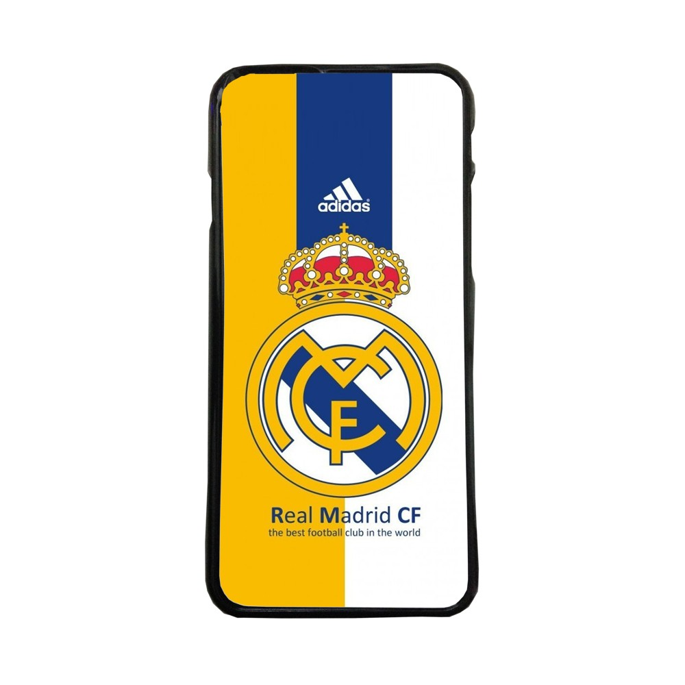 Carcasas de movil funda compatible con Samsung Galaxy A8 real madrid futbol