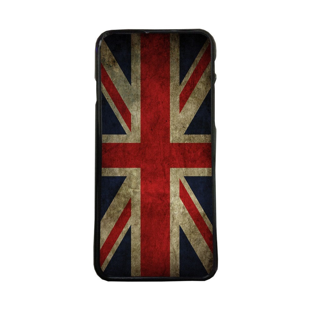 Carcasas de movil fundas de moviles de TPU compatible con P10  bandera Reino Unido