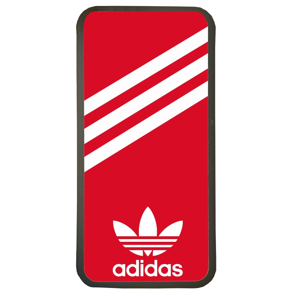 Carcasas de movil fundas de móviles de TPU compatible con Iphone XS Max marca logotipo adidas color rojo
