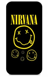 Fundas De Móviles Carcasas De Móvil De TPU Nirvana Música Rock