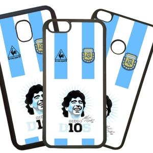 Fundas De Móviles Carcasas De Móvil De TPU Modelo Diego Armando Maradona El Pelusa
