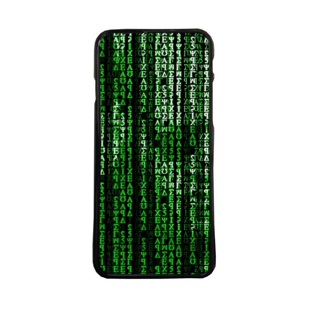 Carcasas de movil funda tpu compatible con huawei p8 lite 2017 the matrix letras