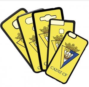Carcasas de movil fundas de móviles de TPU compatible con Huawei P8 lite 2017 Cádiz Club de Futbol Escudo Equipo