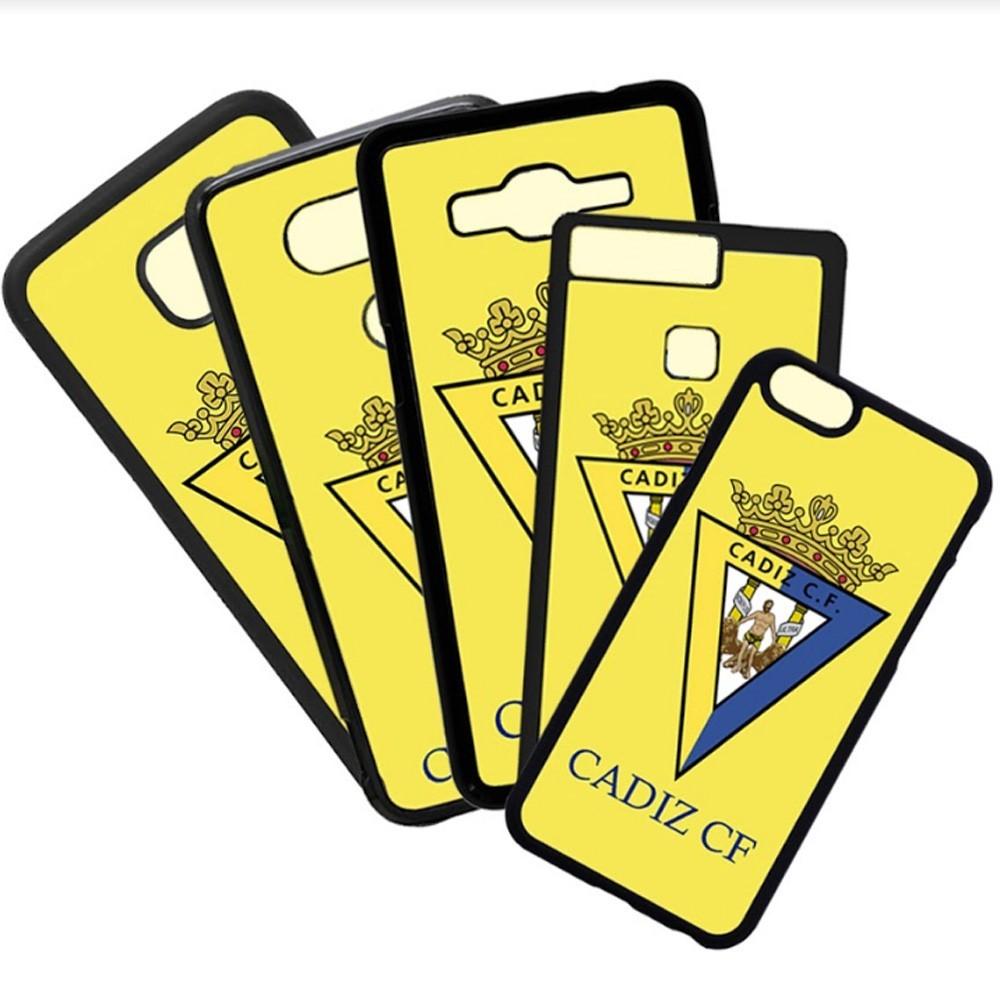 Carcasas de movil fundas de moviles de TPU compatible con Samsung Galaxy S8 Plus Cádiz Club de Futbol Escudo Equipo