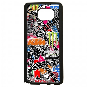 carcasas de movil fundas tpu compatible con samsung galaxy note 5 stickers motos