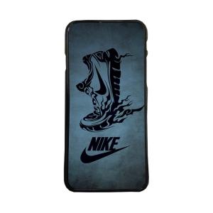Fundas De Móviles Carcasas De Móvil De TPU Nike Zapatilla Fondo Gris