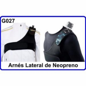 Arnes de Hombro Accesorios para  Camara Deportiva Compatible con GoPro Hero