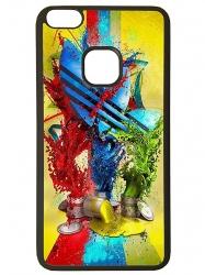 Funda carcasas móvil adidas pinturas compatible con móvil el Huawei P10 Lite