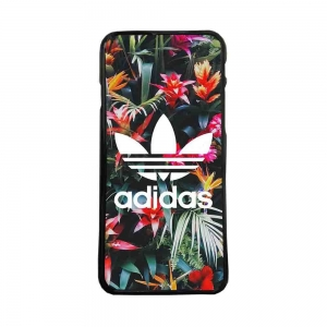 Carcasas de moviles funda de movil tpu compatible con iphone 5c Adidas flores