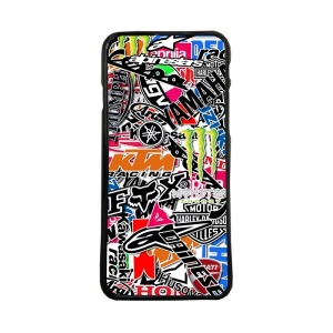 Carcasas de moviles funda de movil tpu compatible con iphone 7 stickers motos