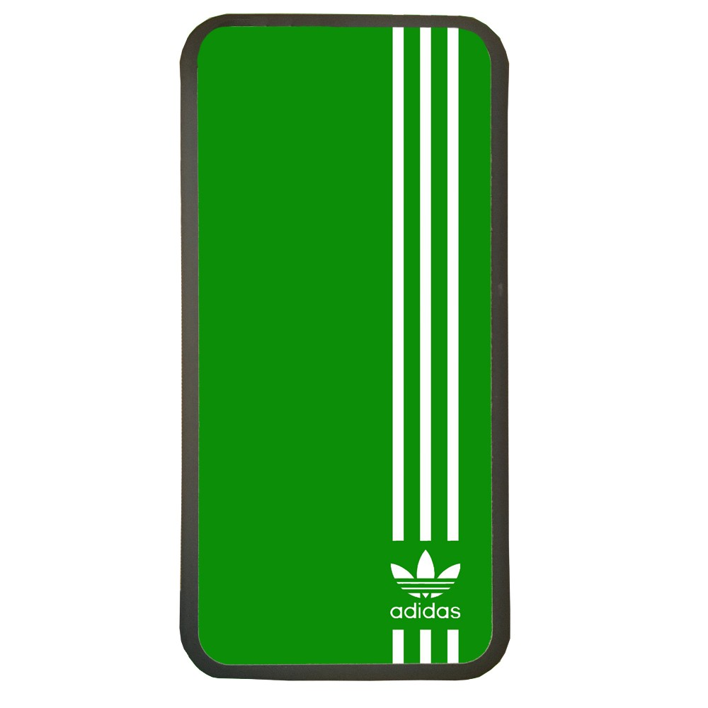 Carcasas de movil fundas de moviles de TPU compatible con Samsung Galaxy S6 marca adidas color verde deporte
