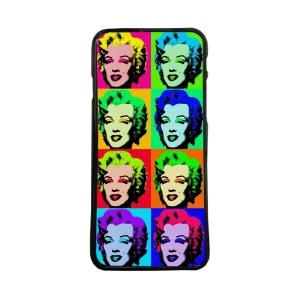 Fundas De Móviles Carcasas De Móvil De TPU Colage Marilyn Monroe Diva Estrella