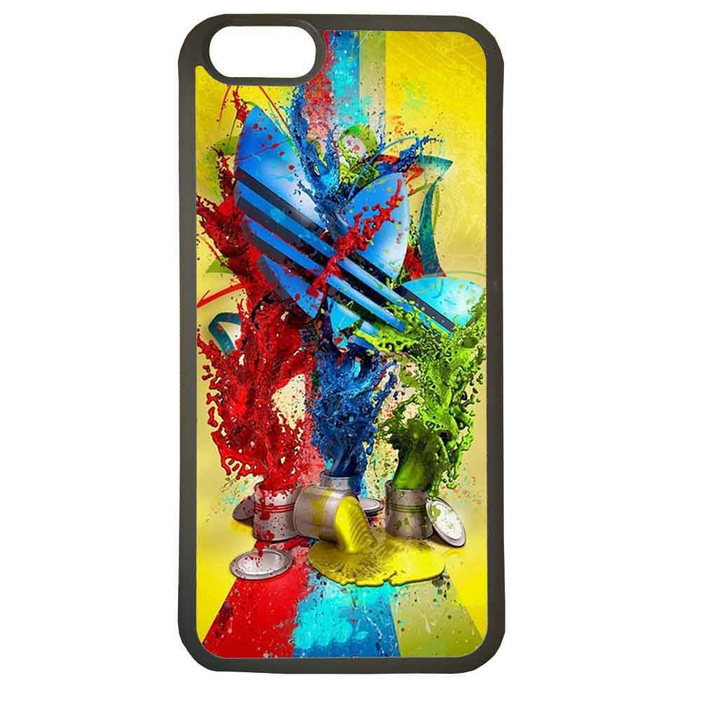 Funda carcasas móvil adidas pintura compatible con el móvil iphone 5 5s